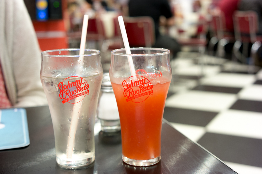 Johnny Rockets bebidas