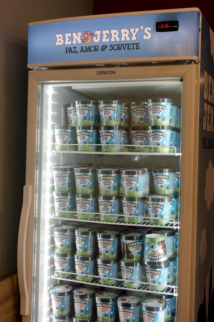 geladeira Ben Jerrys