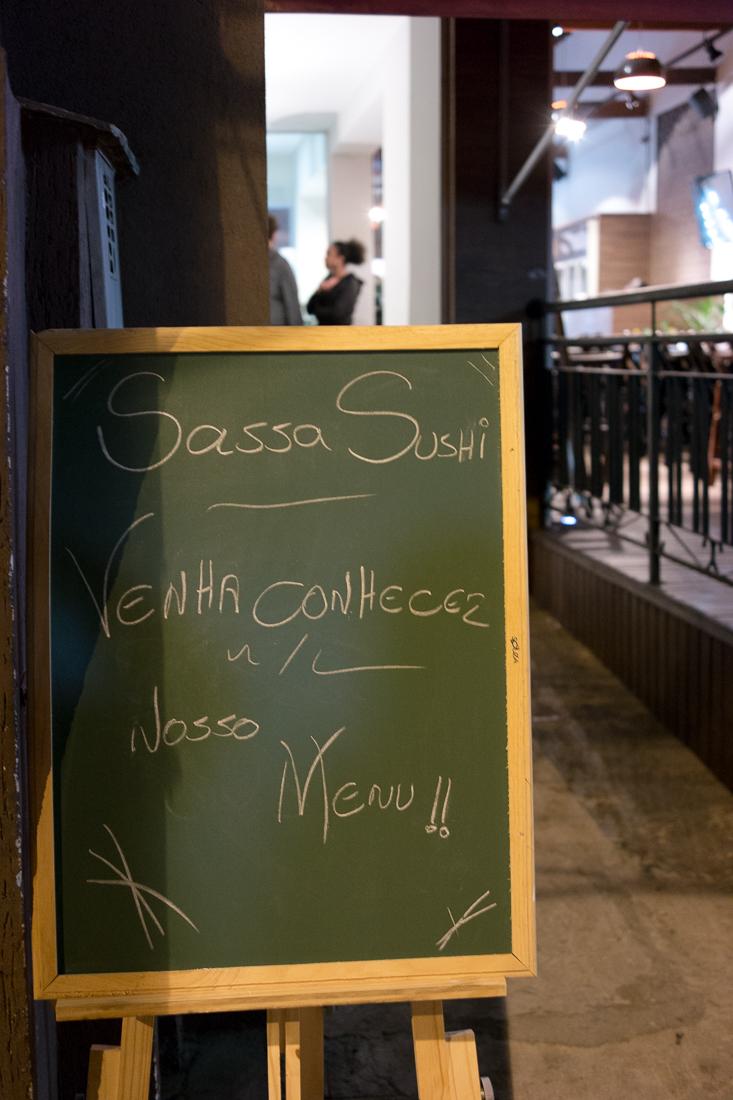 menu sassa sushi
