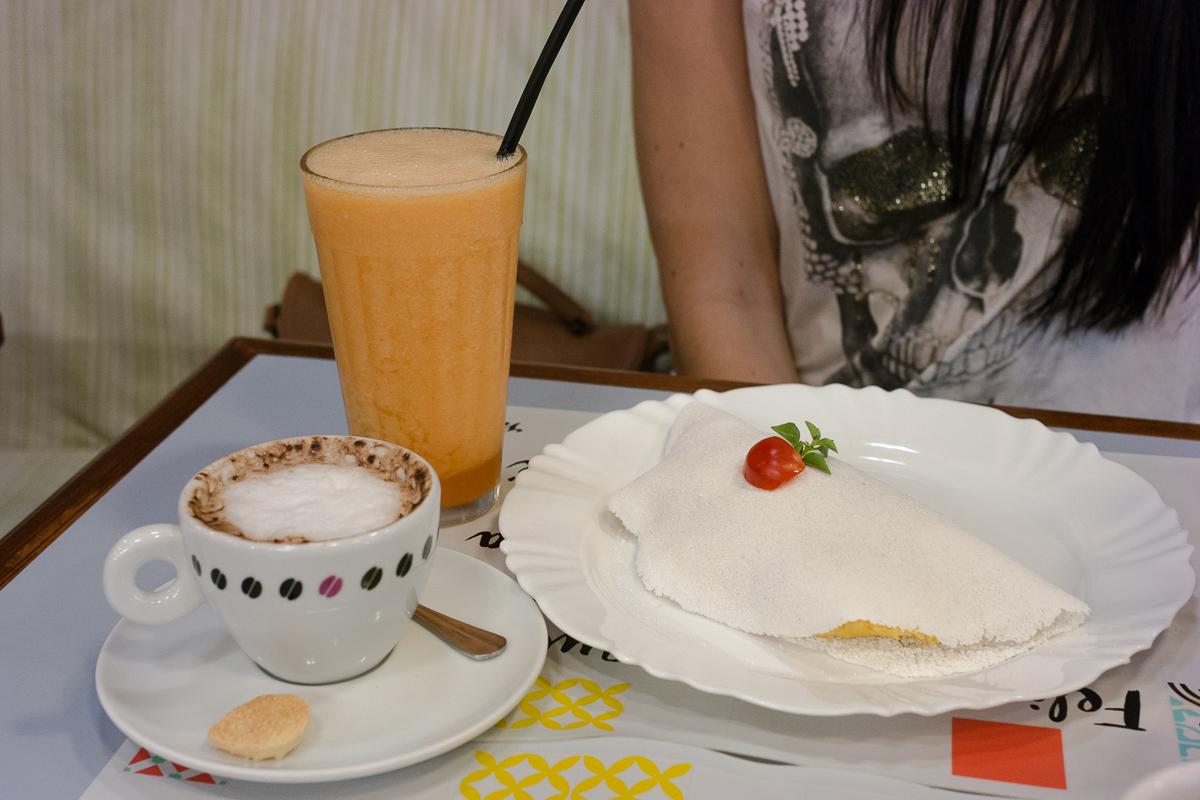 Combo do festival de café da manhã