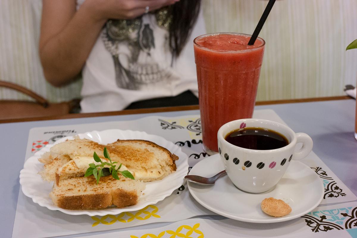 Combo de festival de café da manhã