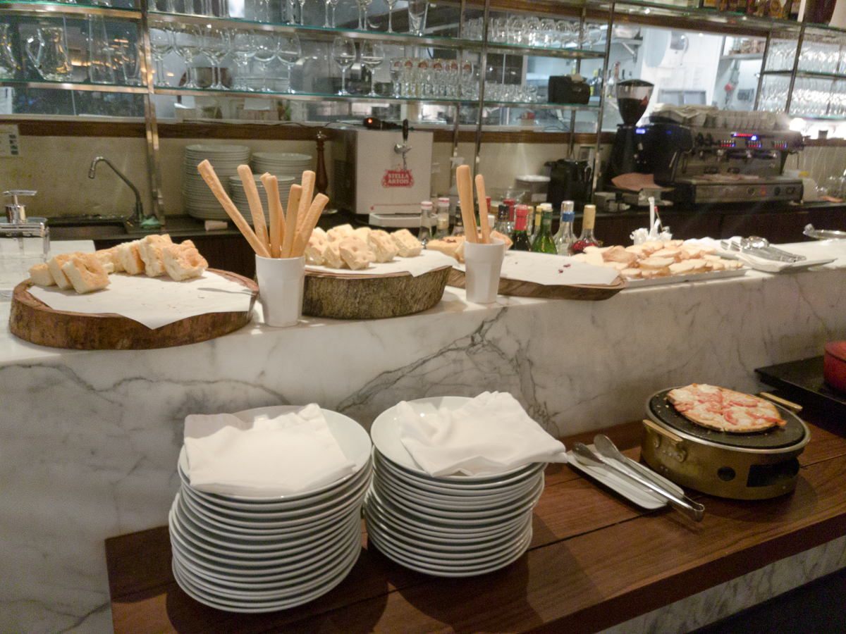 buffet antepastos