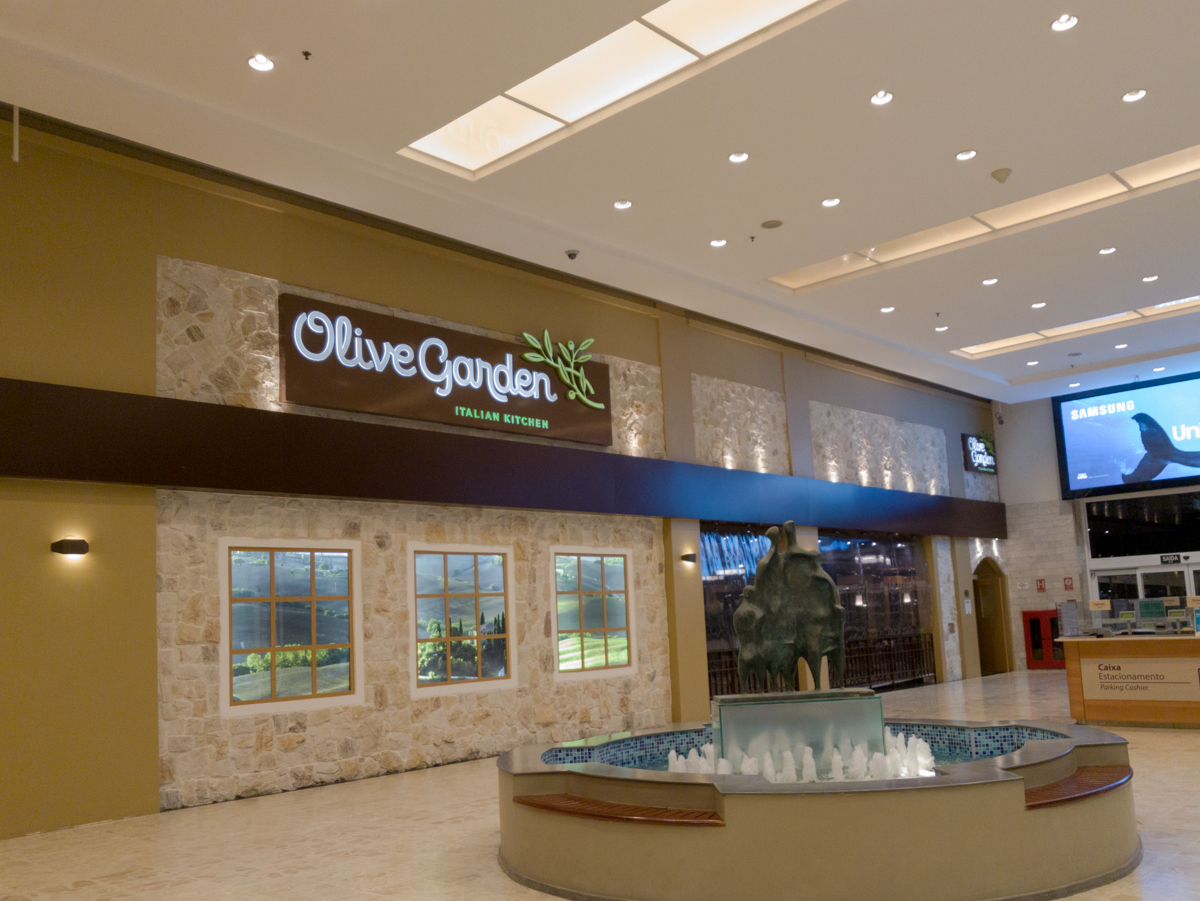 OLIVE GARDEN - Conhecendo a unidade do Shopping Center Norte!