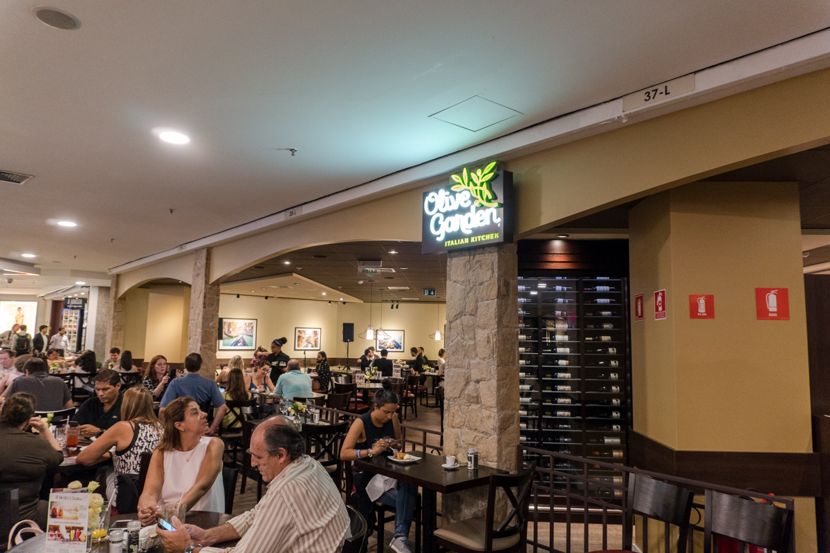 OLIVE GARDEN - Nova unidade no Morumbi Shopping! - Fica, vai ter janta